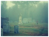 Foggy Morning Graveyard
