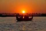 Coucher de soleil au pont de U-Bein