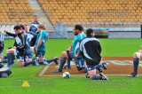 All Blacks Captains Run before AB's vs Ireland rugby union 2010
