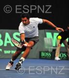 Davis Cup Pakistan vs New Zealand reverse singles match one