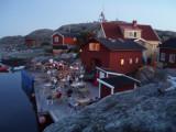 Kväll på Väderöarna