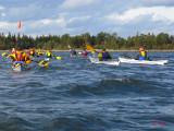 fint höstväder för paddling