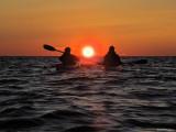 Solnedgång i havet!