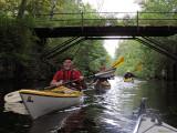 Lätt paddling medströms