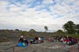 Vårt läger på Vidskär