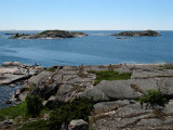 Utsikt söderut från lunchön