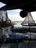 Kul att se fiskeredskap som används.