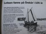 Informationstavla på Örskär