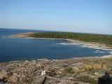 Utsikt från fyren mot Ramviken
