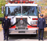 Honors for a Firefighter