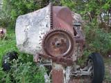 Forgotten in the junk yard