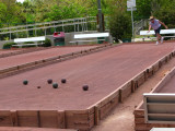 Bocce Ball game