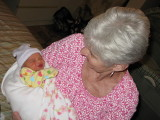 Maya and great-grandmother