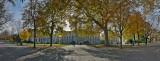 Geneva University in the Parc des Bastions