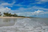 The beach at Lucena...on a sunday !