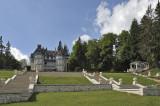 Les Avenières Castle, on the Saleve Mountain