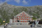 The Grimsel Pass Hospice (2'165 m. / 7'100 feet)