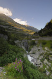 ...more long and winding road (going to the Furka Pass)