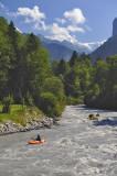 Along Weisse River, before Lauterbrunnen