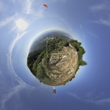 Little Planet for Paragliders