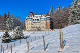 Mount Saleve in winter