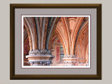 Arch Detail in 16x20 Frame, Triple-Matted