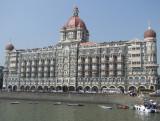 Arriving at Taj Mahal Hotel Mumbai.jpg