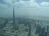 Seaplane view of Burj Dubai.jpg