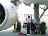 1005 7th Feb 06 Changing a wheel on ABA in Sharjah.JPG