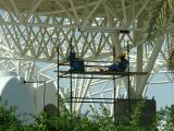 1522 5th April 06 Workers taking a break at Sharjah Airport.JPG