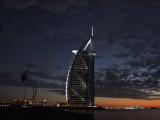 Burg Al Arab Dusk Dubai.JPG