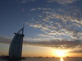 Setting Sun Burg Al Arab Dubai.JPG