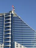 Jumeirah Beach Hotel Flags Dubai.JPG