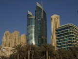 Dubai Hilton and Jumeirah Beach Residences.JPG