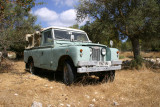 An old Landrover in Fithy