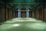 Victory's elevator lobby, deck 7, midship