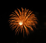 Fireworks July, 2010 in Woodhaven, Michigan