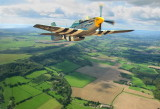 P51 Mustang over West Sussex.Photoshop.jpg