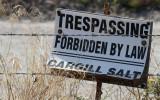 Trespassing Forbidden By Law