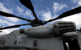 CH 53D Engine and Rotor