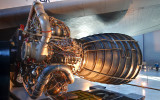 A Space Shuttle Engine