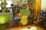 Miss Pineapple Head at The Rafiki Lodge