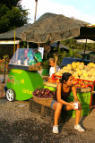 fruit stand, Orotina, Costa Rica