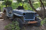 Blue Jeep.