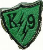 K-9 BOLTS Patch - NKP 70