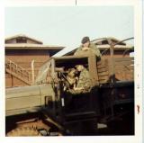 2 guys & dog in truck Udorn 71