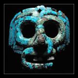 Mosaic mask of Quetzalcoatl Aztec/Mixtec, 15th-16th century AD - British Museum (EPO_7214)