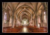 Eglise de Biville interieur 1