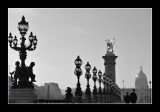 pont Alexandre III - B&W 1