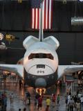 The space shuttle Enterprise